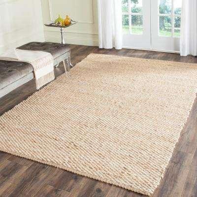 Natural Fiber Natural 6 ft. x 9 ft. Area Rug