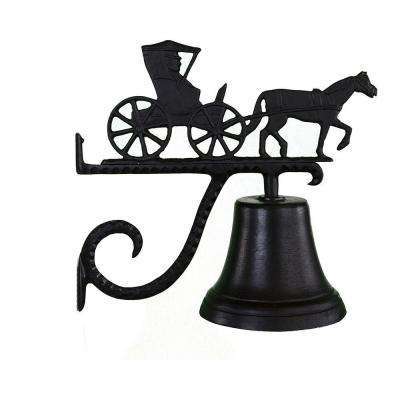 Cast Bell with Black Country Doctor Ornament