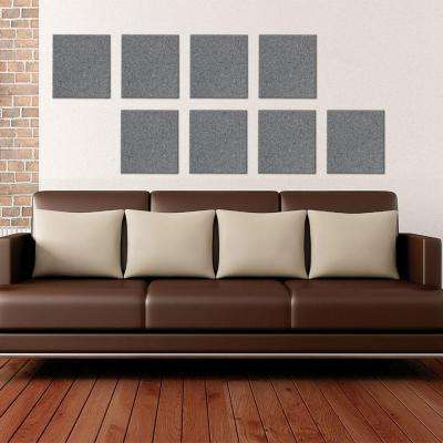 UltraSonic 12 in. x 12 in. Acoustic Panels (Package of 6)