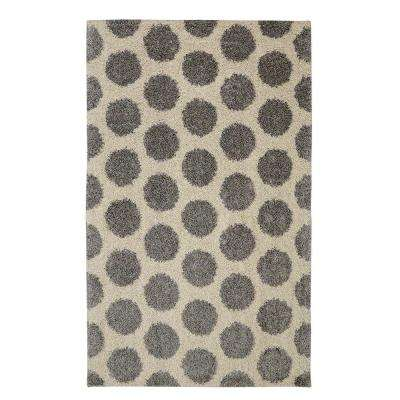 Mystic Dots Bay Blue 8 ft. x 10 ft. Area Rug
