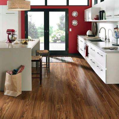XP Golden Tigerwood 10 mm Thick x 5-1/4 in. Wide x 47-1/4 in. Length Laminate Flooring (412.2 sq. ft. / pallet)