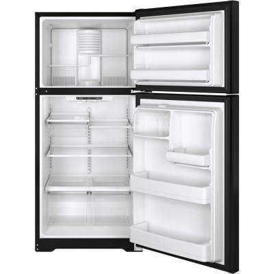18.2 cu. ft. Top Freezer Refrigerator in Black, ENERGY STAR