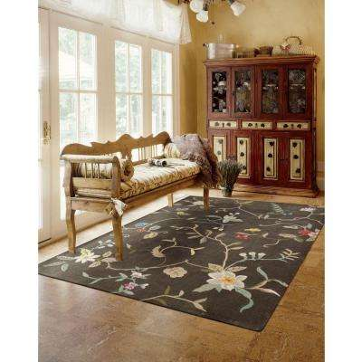 Contour Tobacco 5 ft. x 8 ft. Area Rug