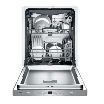 500 Series Top Control Tall Tub Pocket Handle Dishwasher in Stainless Steel with Stainless Steel Tub, 44dBA