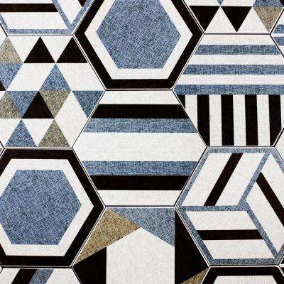 Fabrica Blue Jeans 8 in. x 8 in. x 7.94 mm Ceramic Floor and Wall Tile (12.32 sq. ft. / case)