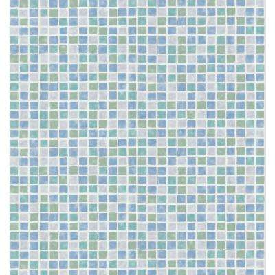 8 in. W x 10 in. H Mosaic Tile Wallpaper Sample
