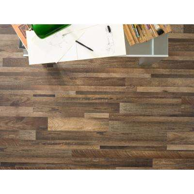 Winchester Oak 5.91 in. x 48 in. HDPC Floating Vinyl Plank Flooring (19.69 sq. ft. per case)