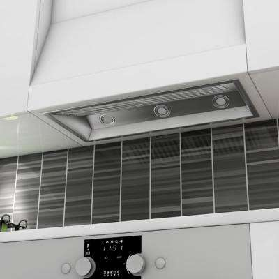 34 in. 1200 CFM Insert Range Hood in Stainless Steel