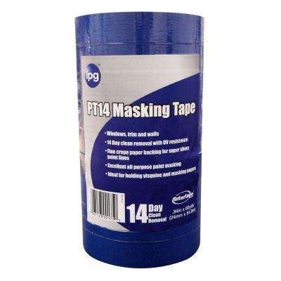 PT14 Pro Mask Blue 1 in. x 60 yds. Masking Tape (9-Pack)