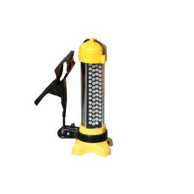 30 LED Rechargeable Work Light with Adjustable Clamp