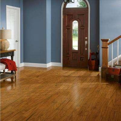 Plano Oak Gunstock 3/8 in. Thick x 3 in. Wide x Varying Length Engineered Hardwood Flooring (30 sq. ft. / case)