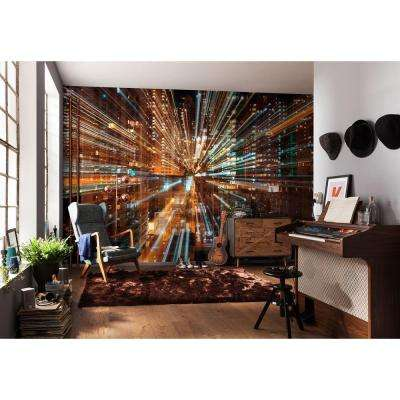 145 in. H x 98 in. W Fusion Wall Mural