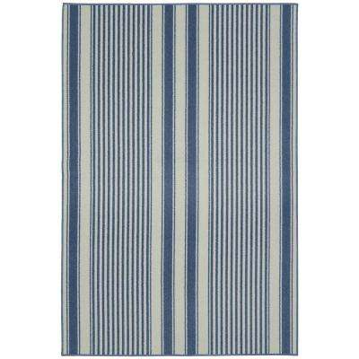 Cape Cod Sky Blue 6 ft. x 8 ft. Area Rug