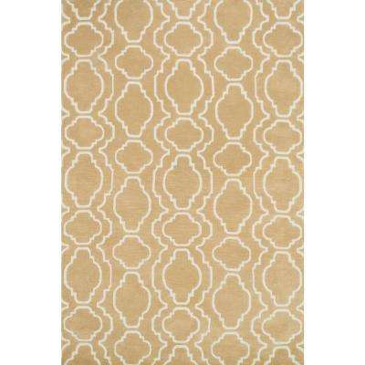Cassidy Lifestyle Collection Beige 3 ft. 6 in. x 5 ft. 6 in. Area Rug