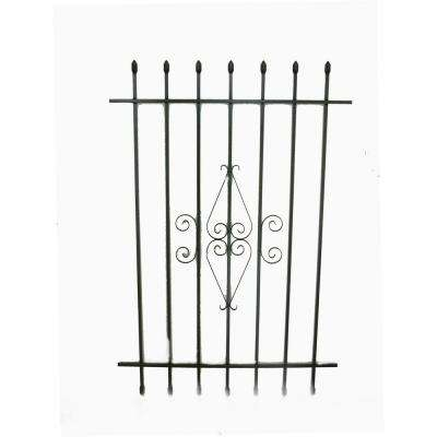 36 in. x 54 in. Spear Point Window Bar Guard