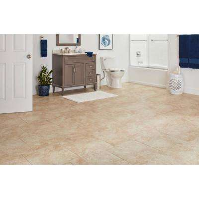 Portland Stone Beige 18 in. x 18 in. Glazed Ceramic Floor and Wall Tile (2.18 sq. ft. / piece)
