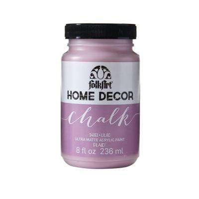 Home Decor 8 oz. Lilac Ultra-Matte Chalk Finish Paint