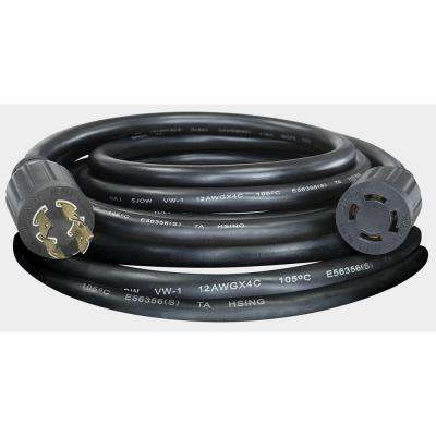 20 ft. 20-Amp Manual Transfer Switch Power Cord