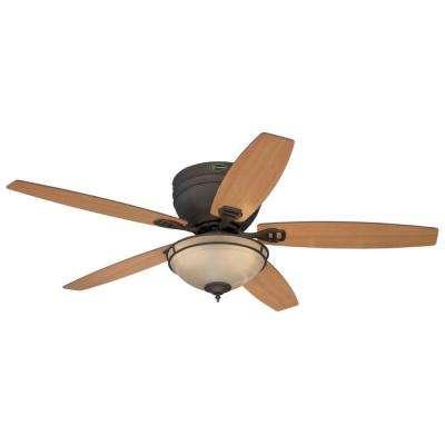Carolina 52 in. LED Oil Rubbed Bronze Ceiling Fan