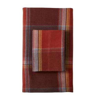 Preston Yarn-Dyed Plaid Flannel Pillowcase (Set of 2)
