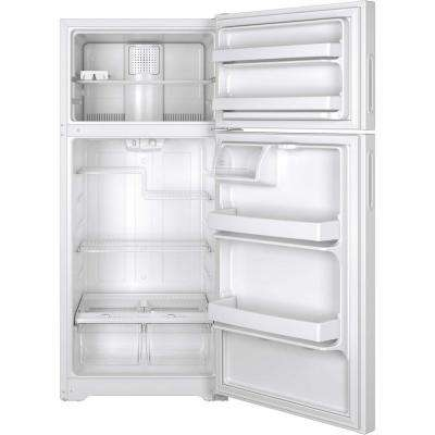 15.5 cu. ft. Top Freezer Refrigerator in White, ENERGY STAR