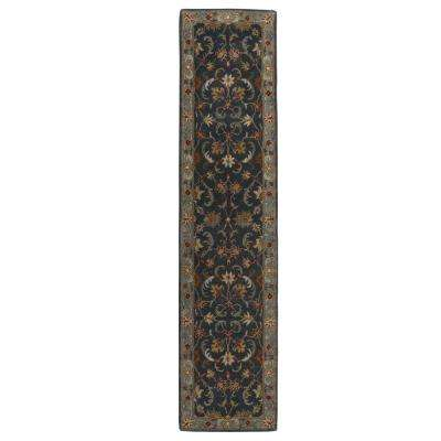 Bronte Indigo 2 ft. 3 in. x 7 ft. 10 in. Runner