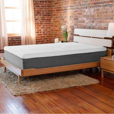European Supreme 10 in. Twin-Size Plush Memory Foam Mattress