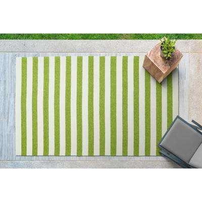 Escape Green 5 ft. x 8 ft. Indoor/Outdoor Area Rug