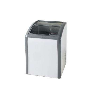 4.2 cu. ft. Manual Defrost Commercial Convertible Chest Freezer in White