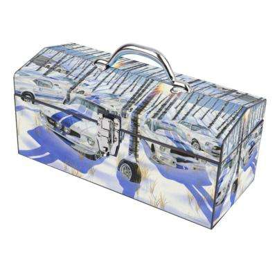 16 in. Pure As Snow Art Tool Box
