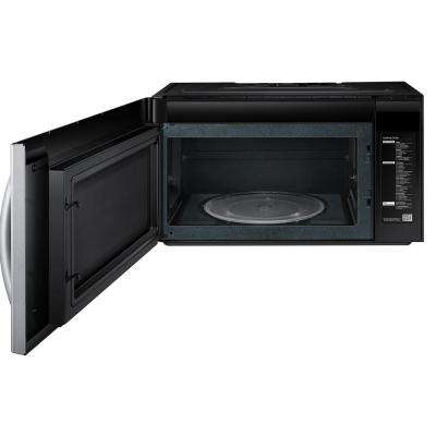 2.1 cu. ft. Over-the-Range Microwave with Sensor Cook in Stainless Steel