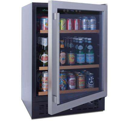 N'FINITY PRO S 178-Can 23.75 in. Beverage Center Stainless Steel Door Cooler