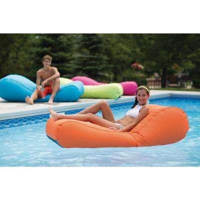 Capri Inflatable Lounger in Orange