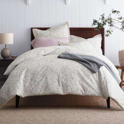 Painters Sprig Organic Cotton Percale Duvet Cover