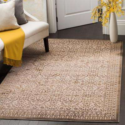 Brilliance Cream/Bronze 9 ft. x 12 ft. Area Rug