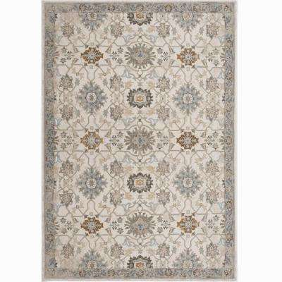 Bazaar Luminous Ivory 7 ft. 10 in. x 10 ft. 2 in. Indoor Area Rug