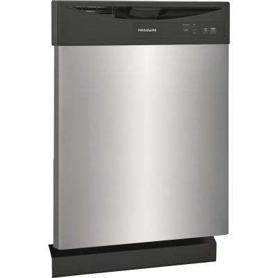 24 in. Stainless Steel Front Control Built-In Dishwasher