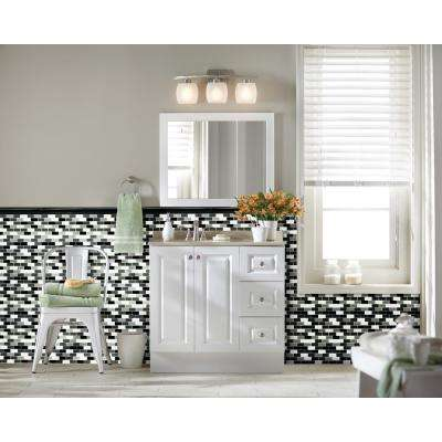 Absolute Black 2 in. x 12 in. Polished Granite Rail Molding Wall Tile (1 lin. ft. )
