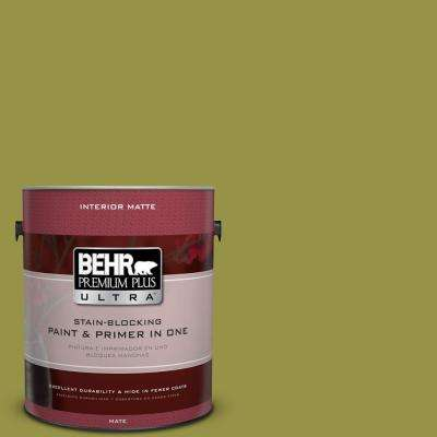 Home Decorators Collection 1 gal. #HDC-FL13-8 Tangy Dill Flat/Matte Interior Paint