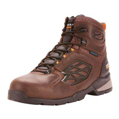 Men's Rebar Flex Work Waterproof Composite Toe Work Boot