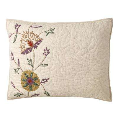 Gatehouse Floral Cotton Blend Sham