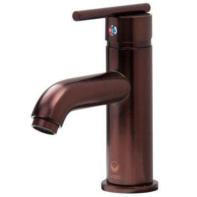 Setai Single Hole 1-Handle Mid-Arc Bathroom Faucet in Oil Rubbed Bronze