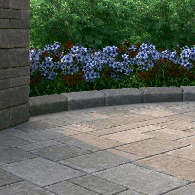 RumbleStone Trap 3.5 in. x 10.25 in. x 7 in. Greystone Concrete Garden Wall Block (120 Pcs. / 29.9 Face ft. / Pallet)
