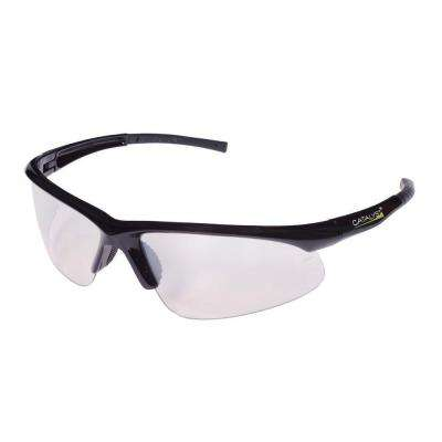 CATALYST Safety Glasses Dual Wrap Around Indoor-Outdoor Lens with Bayonet Temples