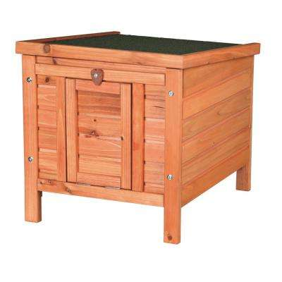 Wooden Small Animal Hutch with Outdoor Run