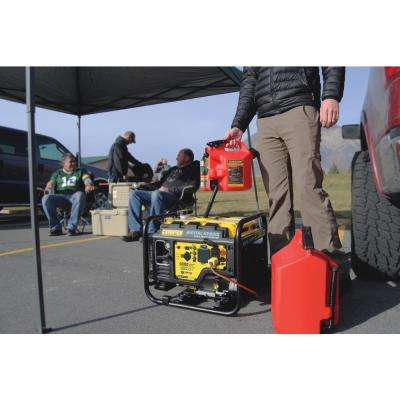 DH Series 4000-Watt Gasoline Powered Remote Start Open Frame Inverter Generator with 224cc Engine