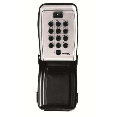 Wall Mount Push Button Lock Box