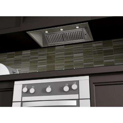 40 in. 1200 CFM Insert Range Hood in Stainless Steel