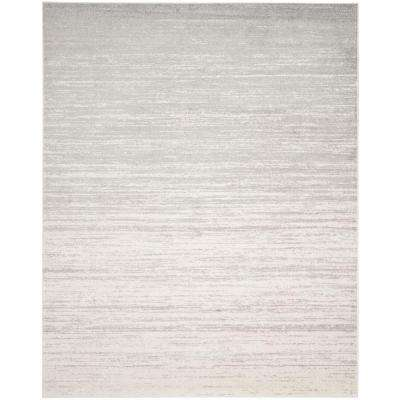 Adirondack Ivory/Silver 10 ft. x 14 ft. Area Rug
