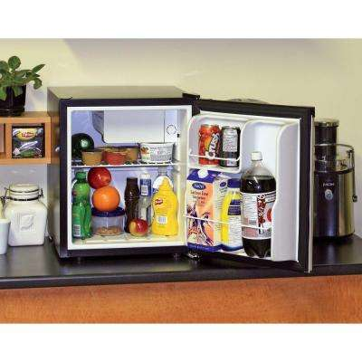1.7 cu. ft. Mini Refrigerator in Stainless Look